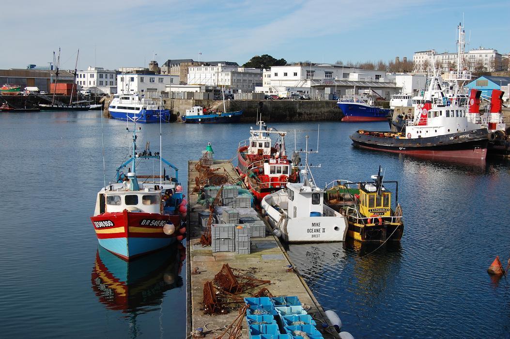 Port commerce brest